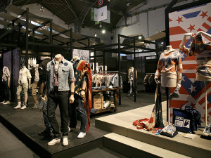 Levi's Europe booth, Barcelona (Spain)