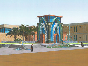 Golf Clubhouse concept – Muscat Hills, Oman